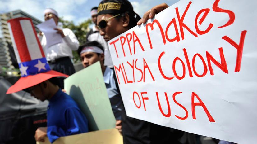 WikiLeaks: США принуждают членов будущего Тихоокеанского партнёрства заключить невыгодную сделку