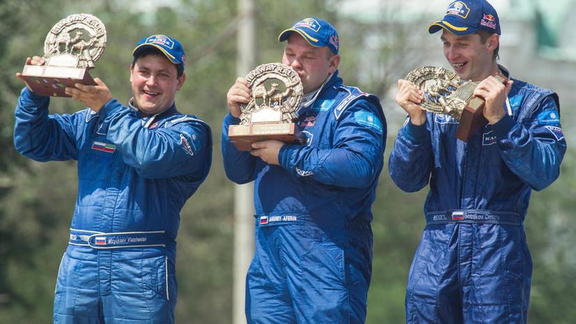Российский экипаж выиграл ралли «Шёлковый путь»