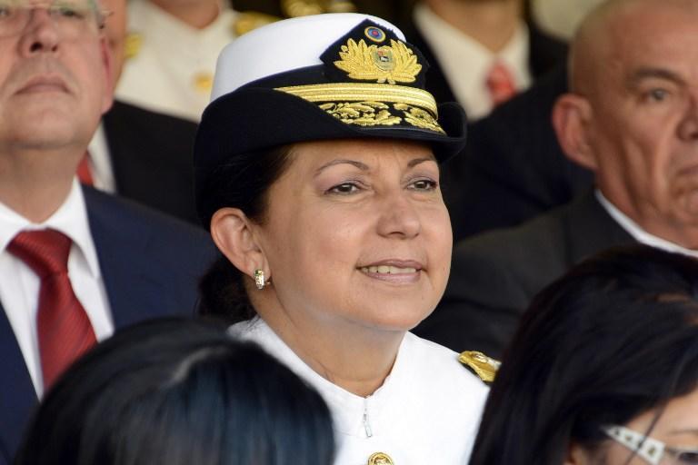 Министерство обороны Венесуэлы возглавила женщина-адмирал