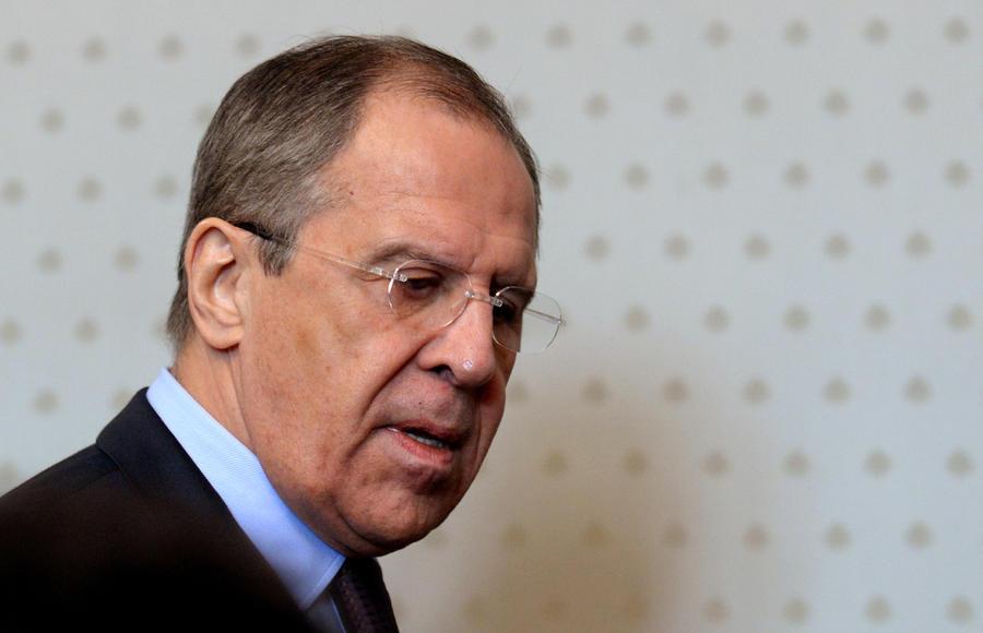 Министр иностранных дел России Сергей Лавров прибыл в Тунис с рабочим визитом