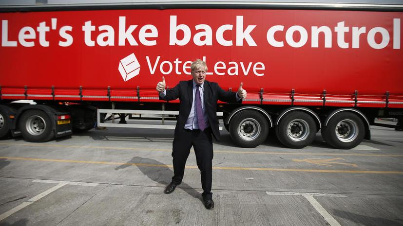 Мэр Лондона: Американцы никогда бы не стали частью ЕС, в котором призывают нас остаться