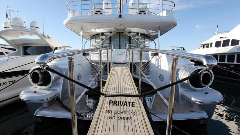 Яхта Березовского продана за €5 млн клиенту из Хорватии