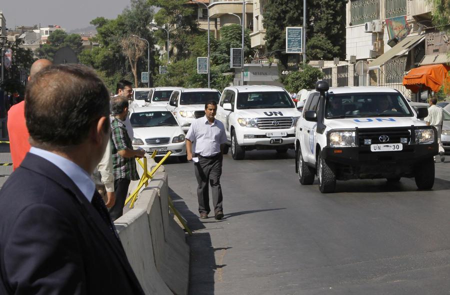 Эксперты по химическому оружию закончили инспекцию в Сирии