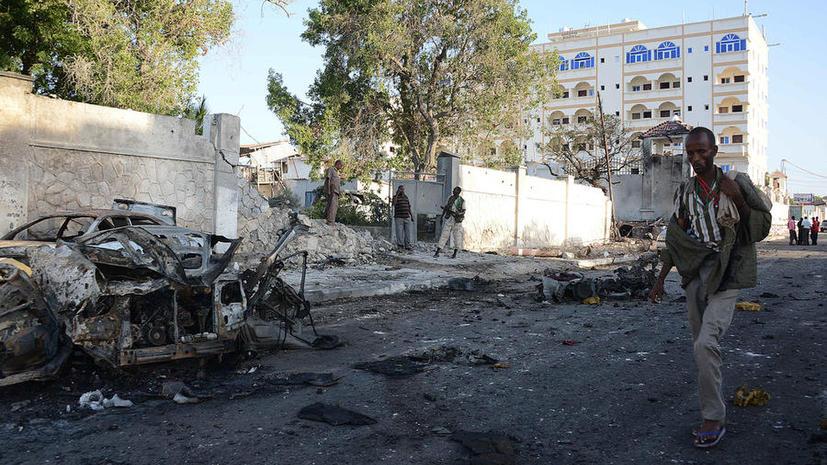 США нанесли ракетный удар по предполагаемой базе террористов на юге Сомали