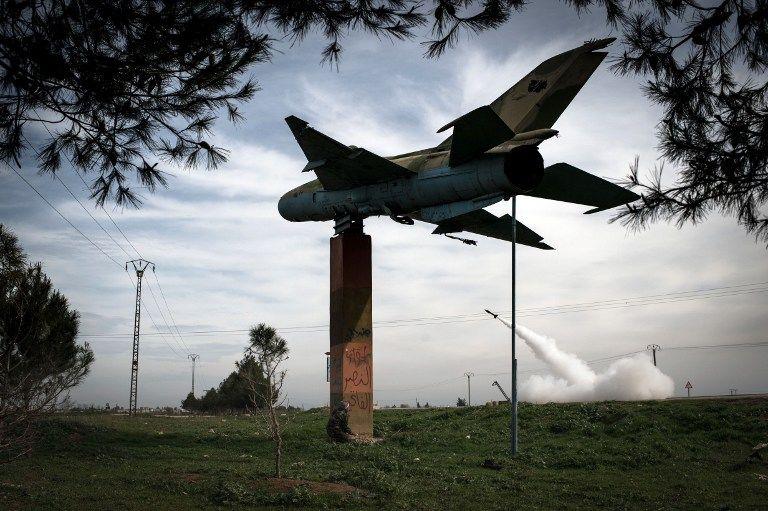 Сирийская армия ведет бои с повстанцами за аэродромы
