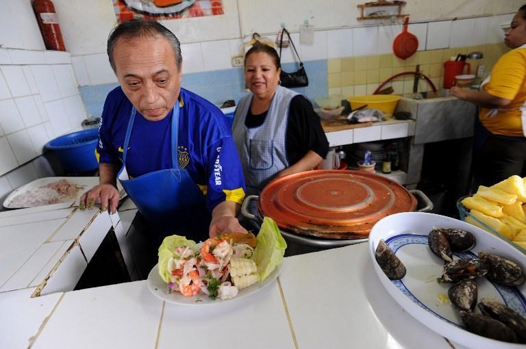 В столице Перу открыт памятник национальному блюду