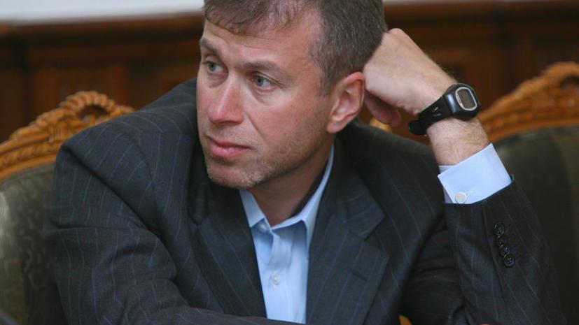 «Утка» об аресте Абрамовича обвалила акции EVRAZ и «Норникеля»
