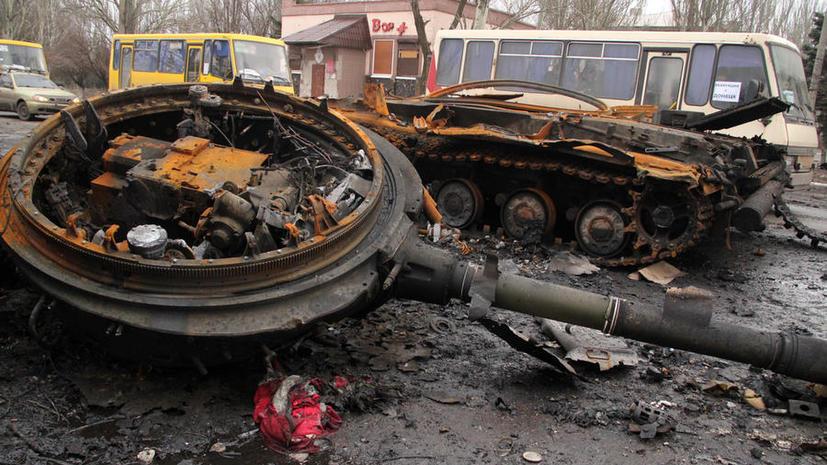 Минобороны ДНР: Ополченцы готовы прекратить огонь в Дебальцеве прямо сейчас