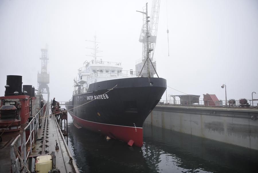 Охранять Тихий океан будет российское гидрографическое судно
