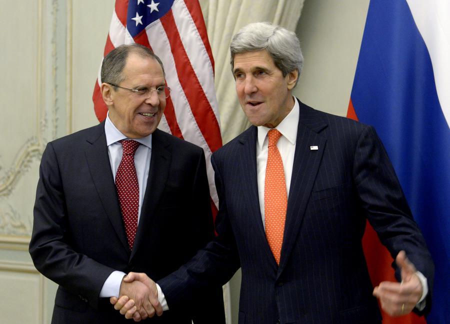 Джон Керри и Сергей Лавров проведут в Париже переговоры по ситуации на Украине