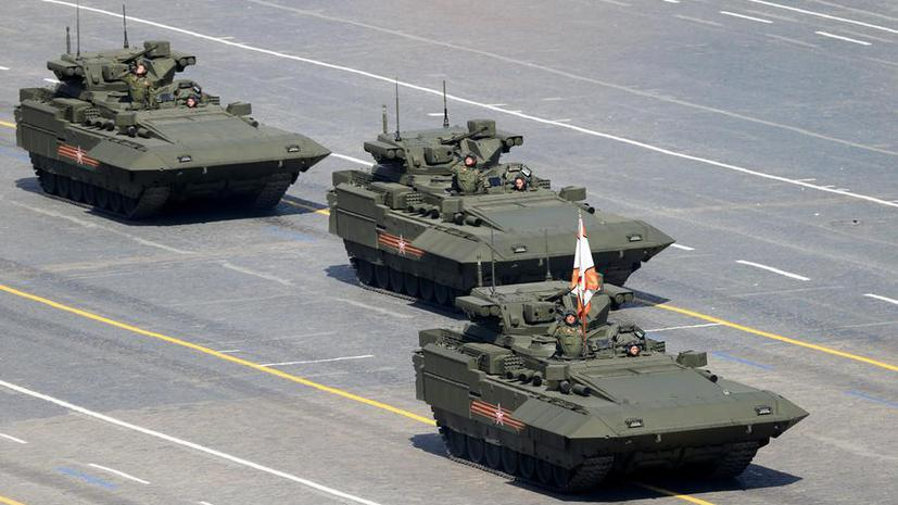 Немецкие СМИ: Германия и Франция создают новый танк, пытаясь догнать российскую «Армату»