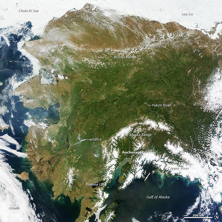 Радиация от АЭС «Фукусима» достигла берегов Аляски