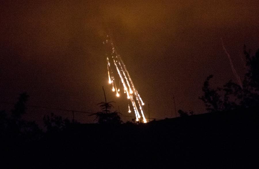 «Мирный» план Порошенко: по окраине Славянска нанесён артиллерийский удар