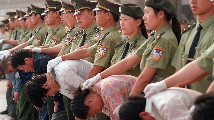 Правозащитники: мировым лидером по числу смертных казней является Китай