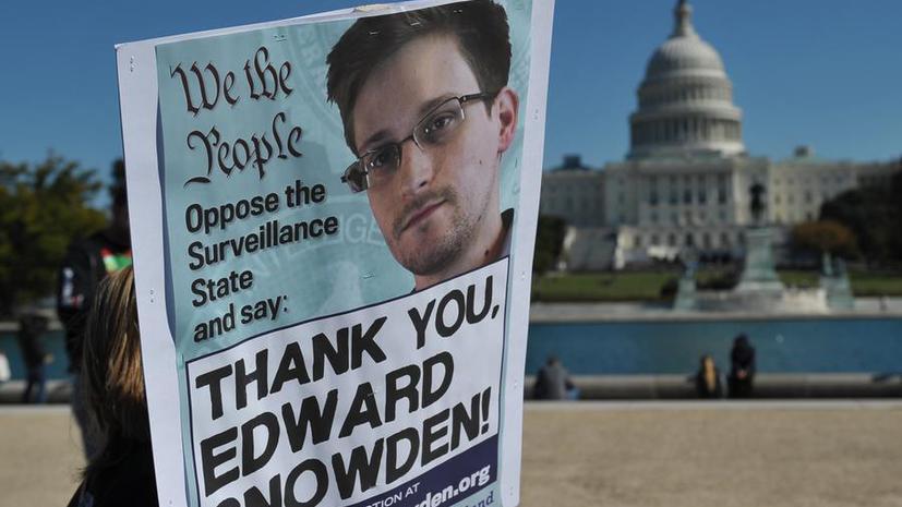 Эдвард Сноуден вошёл в список лидеров по упоминаемости в интернете