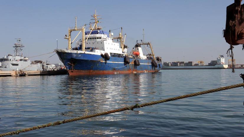 Российский траулер «Олег Найдёнов» покинет порт Дакара в ближайшие 24 часа