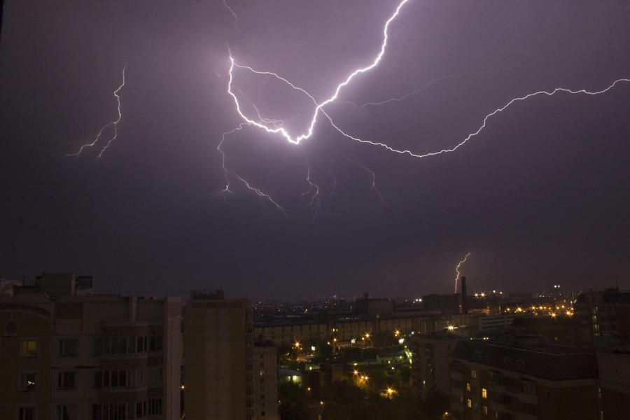 ТЭЦ-2 в Калининградской области отключилась из-за молнии