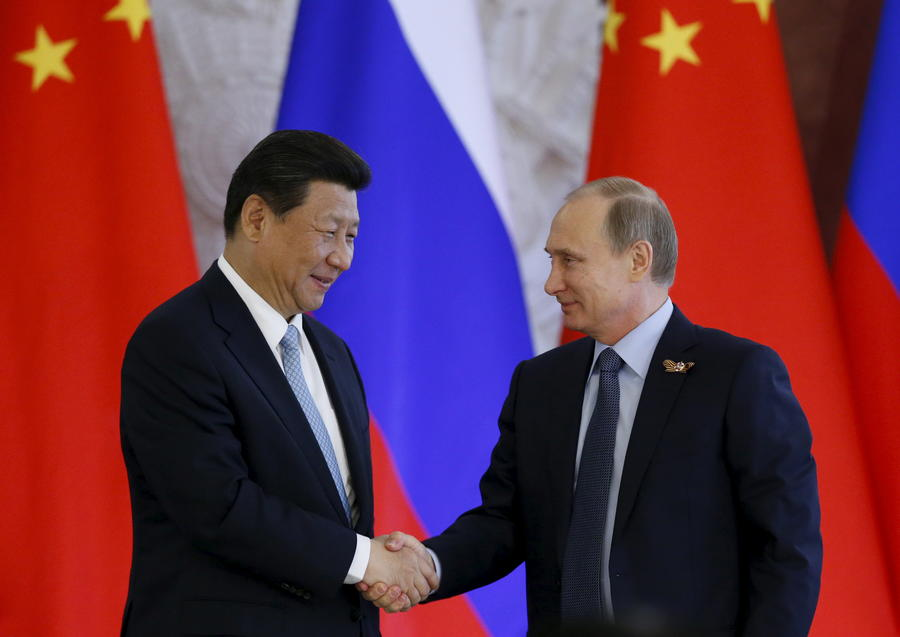 СМИ: Китай шагает в будущее с Россией, несмотря на потерянные территории