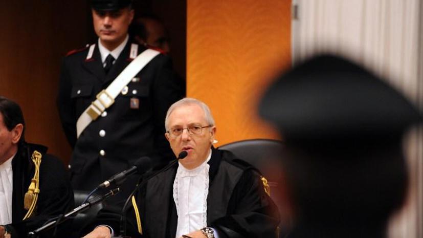 Бывших итальянских министров судят за сделки с мафией