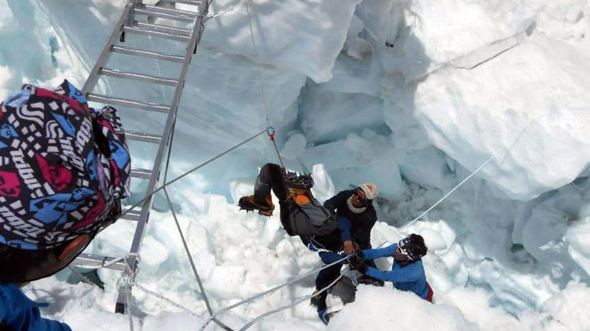 Правительство Непала может запретить восхождение на Эверест