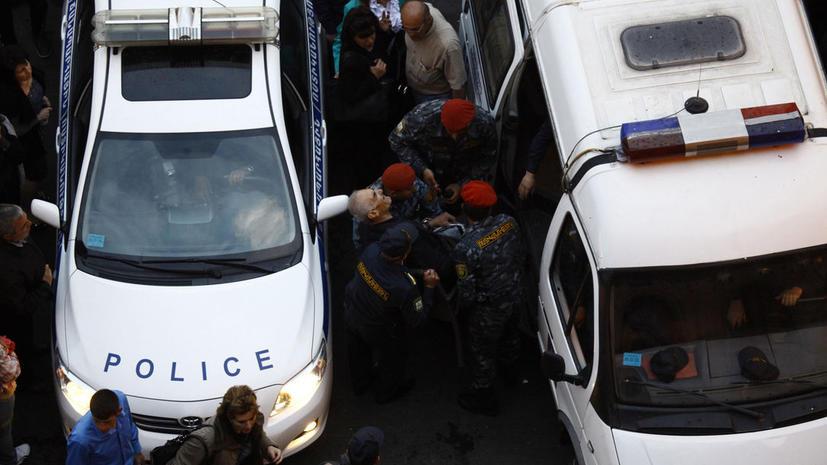 На кандидата в президенты Армении совершено покушение