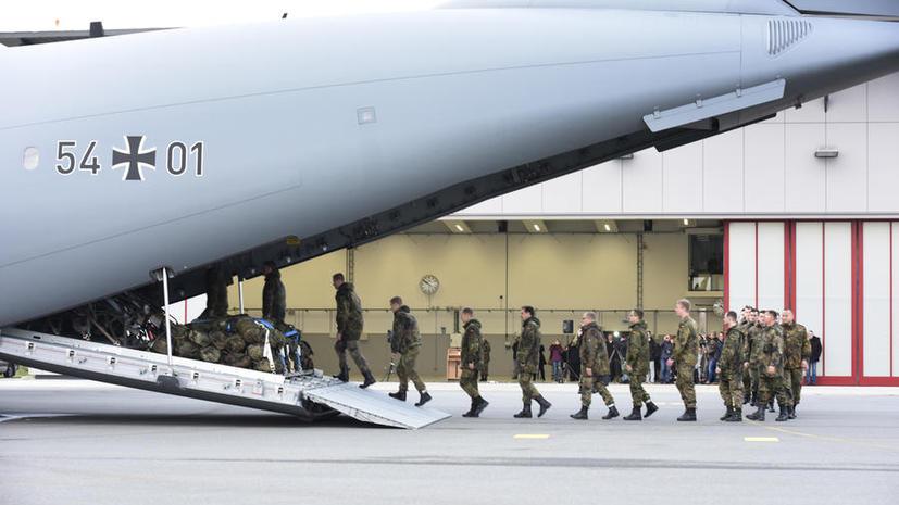 СМИ: Большинство немцев считают операцию Германии в Сирии военными действиями