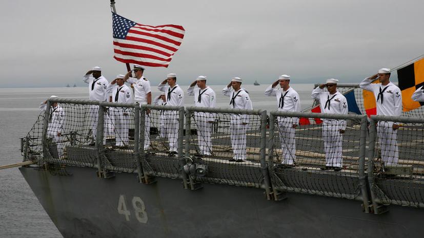МИД РФ озабочен тем, что корабли США не соблюдают график пребывания в Чёрном море