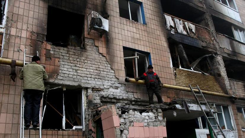 HRW: В применении кассетных боеприпасов в Донбассе виновны украинские силовики