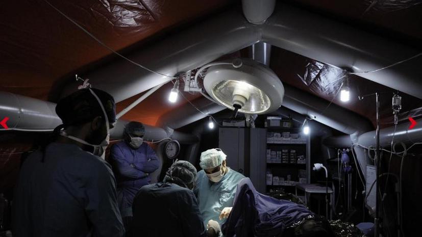 Пятеро медиков гуманитарной организации «Врачи без границ»  похищены экстремистами в Сирии