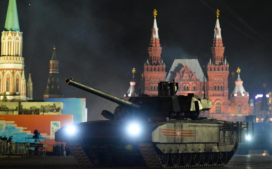 Немецкие СМИ: С появлением «Арматы» Западу придётся срочно перевооружаться