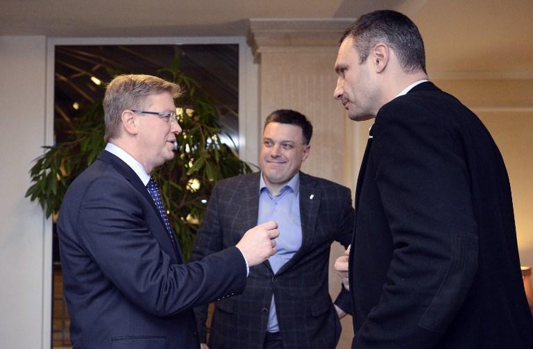 Украинская оппозиция попросила ЕС профинансировать раскол страны