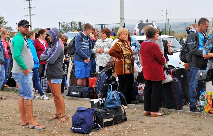 СМИ: Приток эмигрантов с Украины в Россию увеличился вдвое