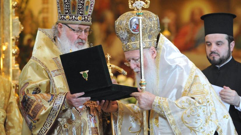 Российский патриарх благословит греческих детей