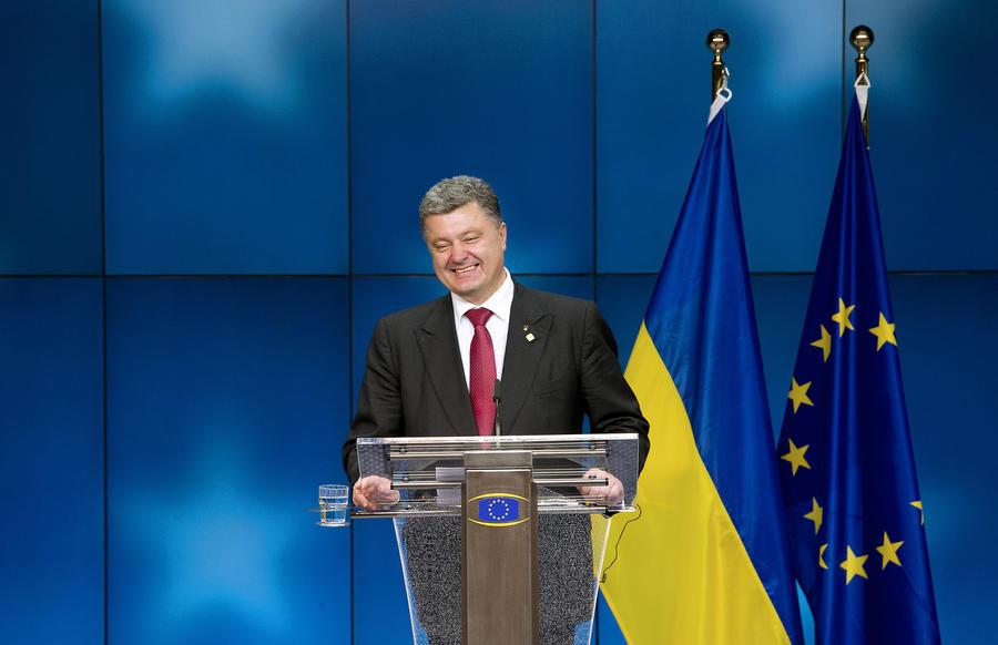 Порошенко «приписал» к позиции Евросоюза лишние пункты