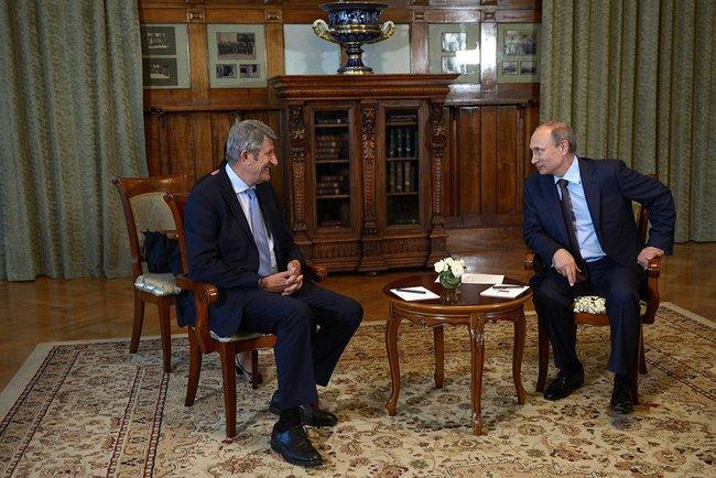 Владимир Путин договорился с французскими предпринимателями об инвестициях в Крым