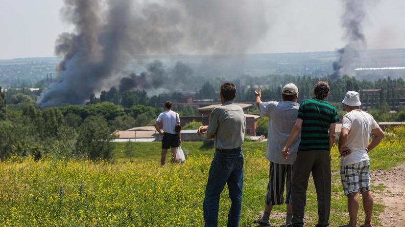 Ополченец: Заявления Порошенко о скорейшем завершении огня на юго-востоке идут вразрез с его реальными действиями
