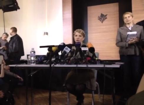 Юлия Тимошенко: Я уверена в том, что Россия понимает только язык силы