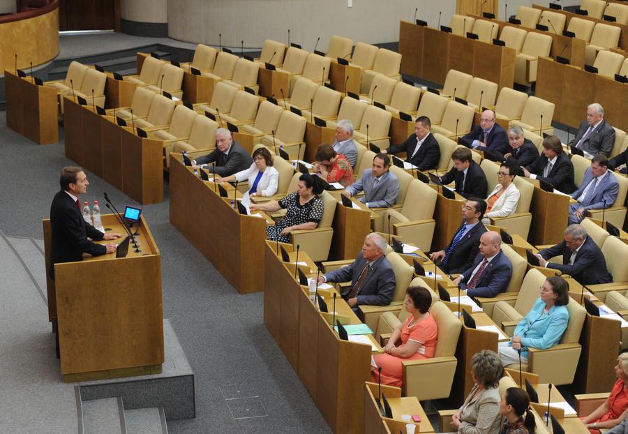Госдума проведёт ревизию всех законов за последние 20 лет
