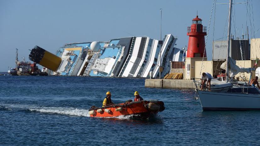 Пострадавшие в результате крушения Costa Concordia судятся с владельцами корабля