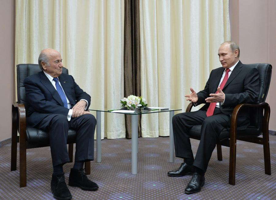Владимир Путин: В России будут созданы все условия для развития футбола