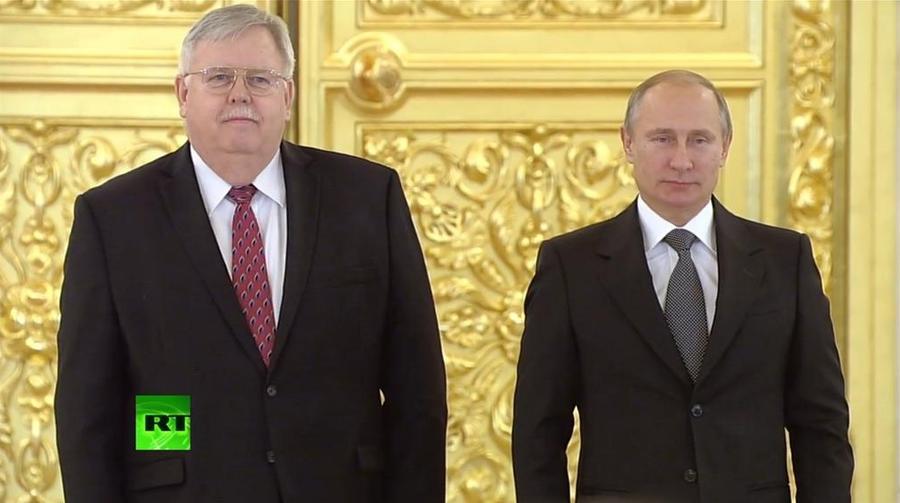 В России снова появился посол Соединённых Штатов