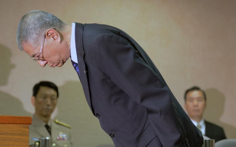 Министр обороны Тайваня ушёл в отставку из-за плагиата