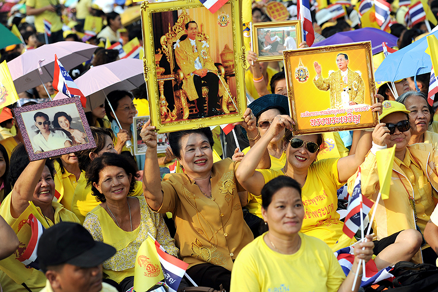 Король Таиланда развеял слухи о своей смерти