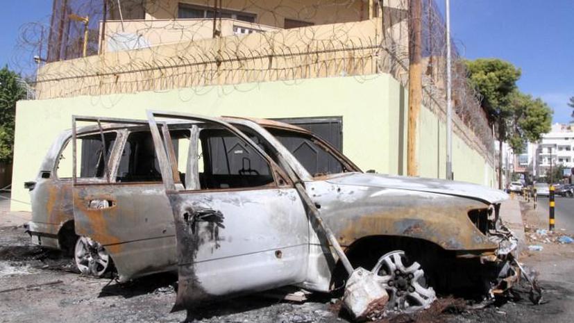 Российских дипломатов эвакуировали из Ливии