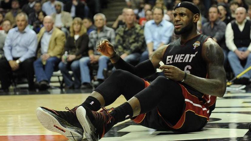 Баскетболисты «Майами» не дотянули до главного рекорда НБА