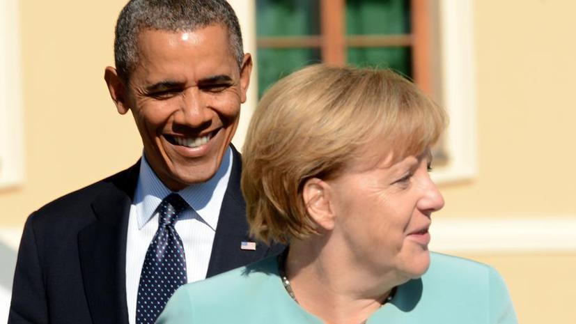 СМИ: Несогласные с политикой Ангелы Меркель немцы могут избавить Россию от американского вторжения