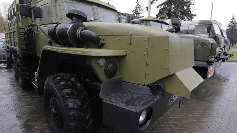 Химоружие из Сирии вывезут российские броневики