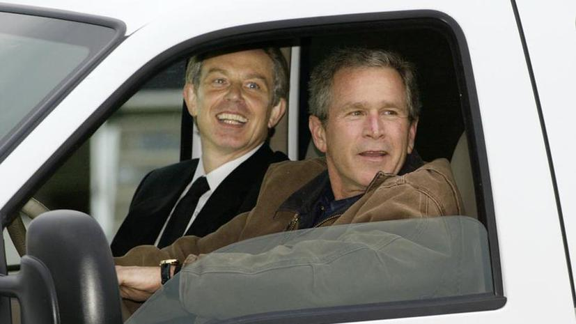 СМИ: Тони Блэр и Джордж Буш — младший договорились о вторжении в Ирак за год до его начала