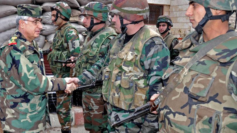 Сирийский министр: американцы выдумали историю с химическим оружием из-за успехов армии Асада