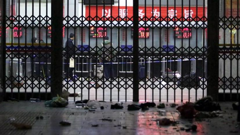 Власти Китая возложили ответственность за теракт в городе Куньмин на уйгурских сепаратистов